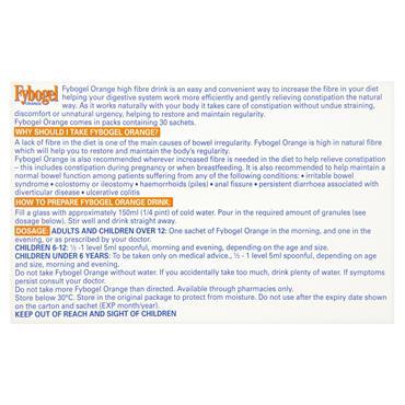 FYBOGEL ORANGE SACHETS