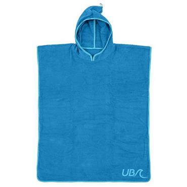 UB Kids Cotton Poncho Blue