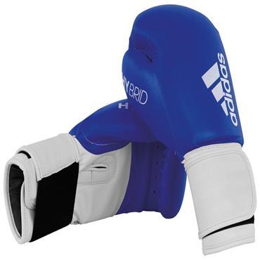 Adidas 100 Hybrid Boxing Gloves 12oz Blue
