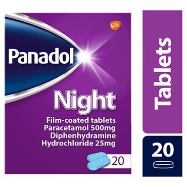 PANADOL NIGHT 20S