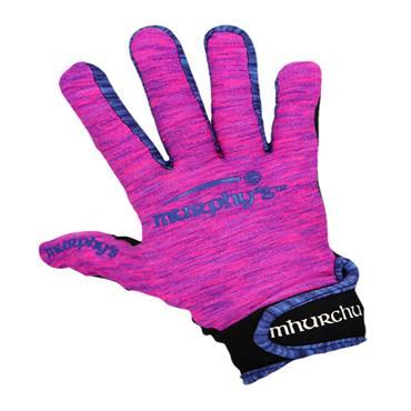 Murphy's Gaelic Gloves 10/Large Pink/Blue