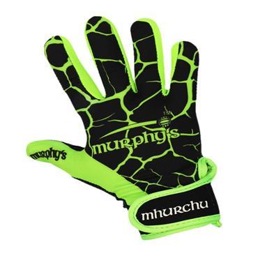 Murphy's Gaelic Gloves 9/Medium Black/Lime