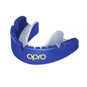 OPRO GOLD Braces Self-Fit GEN4 Mouthguard BLUE