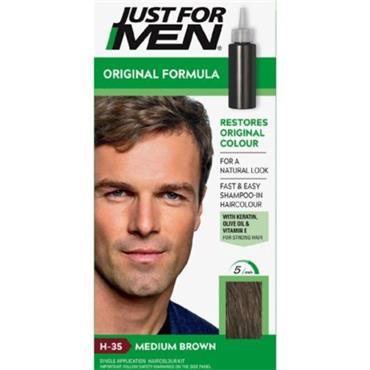 JUST FOR MEN HAIR - MEDIUM BROWN