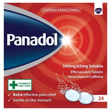 PANADOL EXTRA SOLUBLE 24S