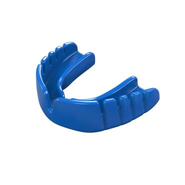 Safegard Snap Fit Mouthguard Adult Electric Blue