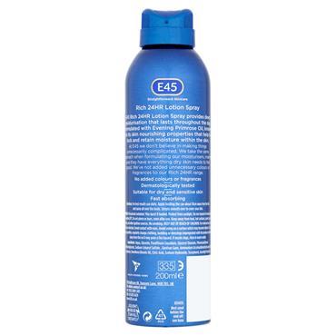 E45 Rich Lotion Spray 200ml