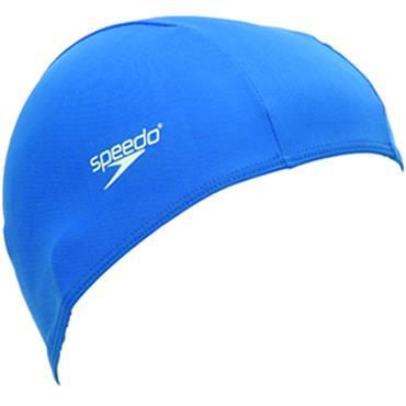 Speedo Polyester Caps Junior Blue
