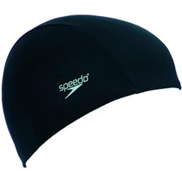 Speedo Polyester Caps Junior Black
