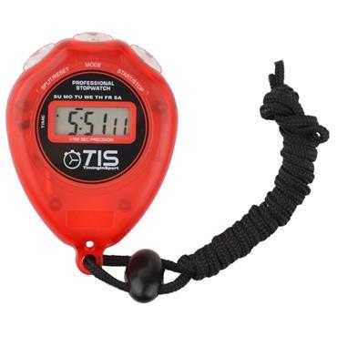 TIS Pro 018 Stopwatch Red