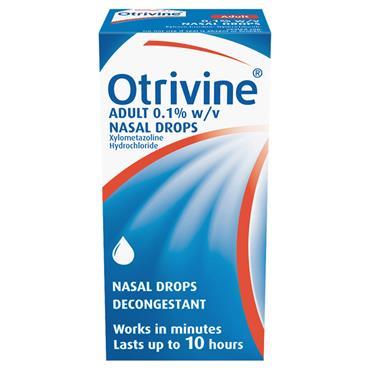 OTRIVINE ADULT DROPS 10ML