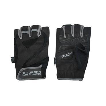 Urban Fitness Pro Gel Training Glove Large Black/Grey