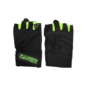 Urban Fitness Training Glove Medium Black/Green