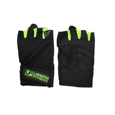 Urban Fitness Training Glove Large Black/Green