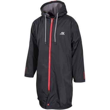 Zone3 Polar Fleece Parka Robe Jacket Xsmall