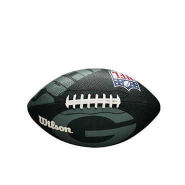 Wilson NFL Team Logo American Football Junior Green Bay Packers