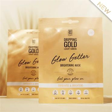 SOSU DRIPPING GOLD GLOW GETTER FACEMASK