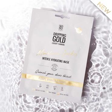 SOSU DRIPPING GOLD MOISTURE LOCK MASK