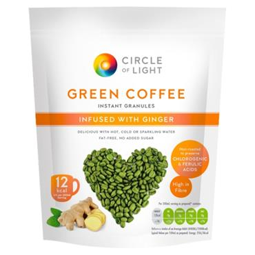CIRCLE OF LIGHT GREEN COFFEE WITH GINGER