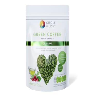 CIRCLE OF LIGHT GREEN COFFEE ORIGINAL