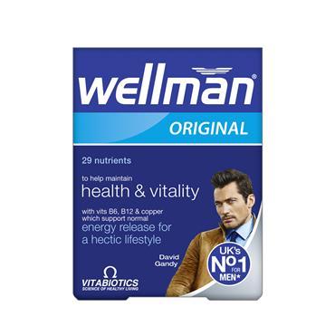 Vitabiotics Wellman Tab's 30's