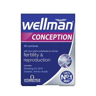 Vitabiotics WellMan Conception Tab's 30's