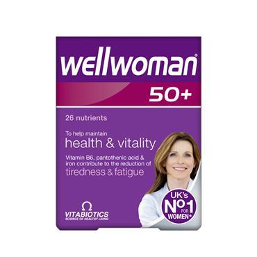 Vitabiotics WellWoman 50 Plus 30's