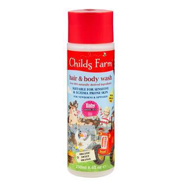 CHILDS FARM Hair & Body Wash - Sweet Orange 250ML
