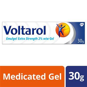 VOLTAROL EMULGEL EXTRA STRENGTH 2% 30G