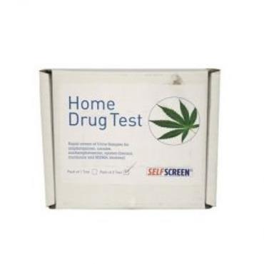 SELFSCREEN HOME DRUG TESTING KIT (PACK OF 2)