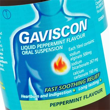 GAVISCON PEPPERMINT