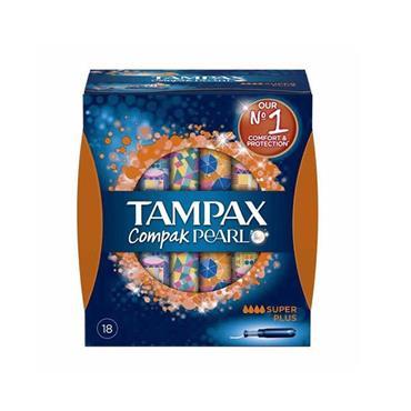 TAMPAX PEARL SUPER PLUS 18'S