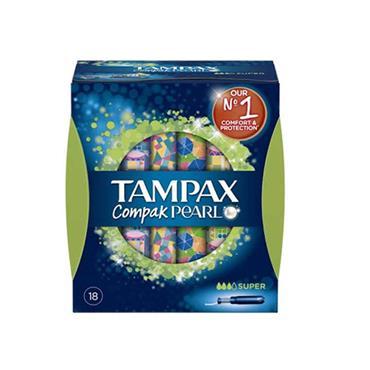 TAMPAX PEARL SUPER 18'S