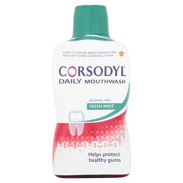 CORSODYL DAILY MOUTH WASH FRESH MINT