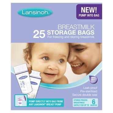 LANSINOH Milk Storage Bags 25