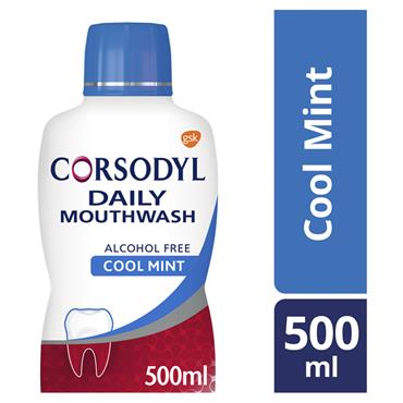 CORSODYL DAILY MOUTHWASH COOL MINT