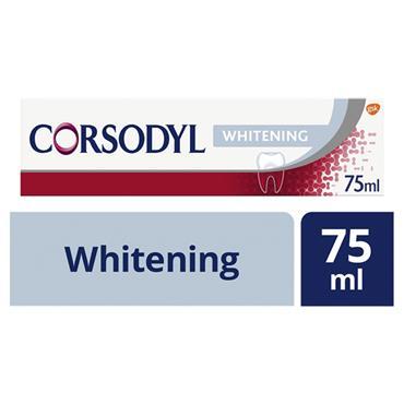 CORSODYL TOOTHPASTE WHITENING