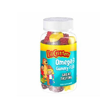 Lil Critters Omega 3 Gummy Fish 60's