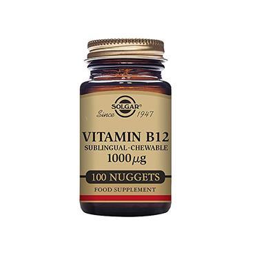 SOLGAR Vitamin B12 1000 ug Nuggets 100s