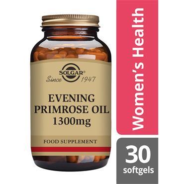 SOLGAR Evening Primrose Oil 1300 mg 30s