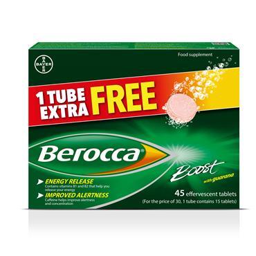 BEROCCA BOOST VALUE PACK 45's