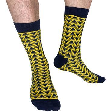 Sicsock GoonR - Away 91 | Retro Shirt Socks| Bruised Banana