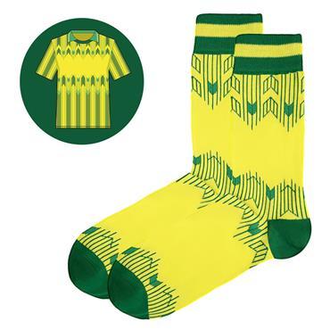 Sicsock The Celts - Away 89 | Retro Shirt Socks| Yellow