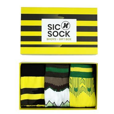 SicSock The Celts - Retro Shirt Sock Gift Box (For Men)