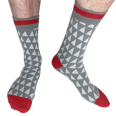 Sicsock Liverpool - Away 89 | Retro Shirt Socks | Grey