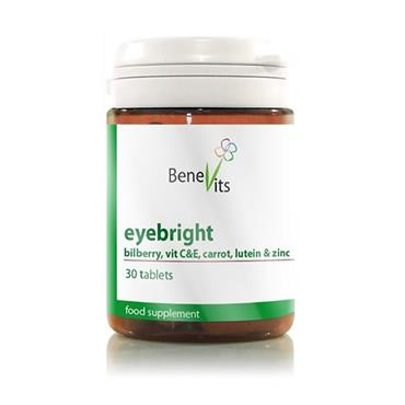 BENEVITS EYEBRIGHT WITH BILBERRY, VITAMIN C&E, CARROT, LUTEIN & ZINC