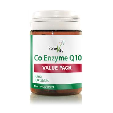 BENEVITS CO ENZYME Q10 180S
