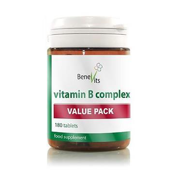BENEVITS VITAMIN B COMPLEX 180 CAPS