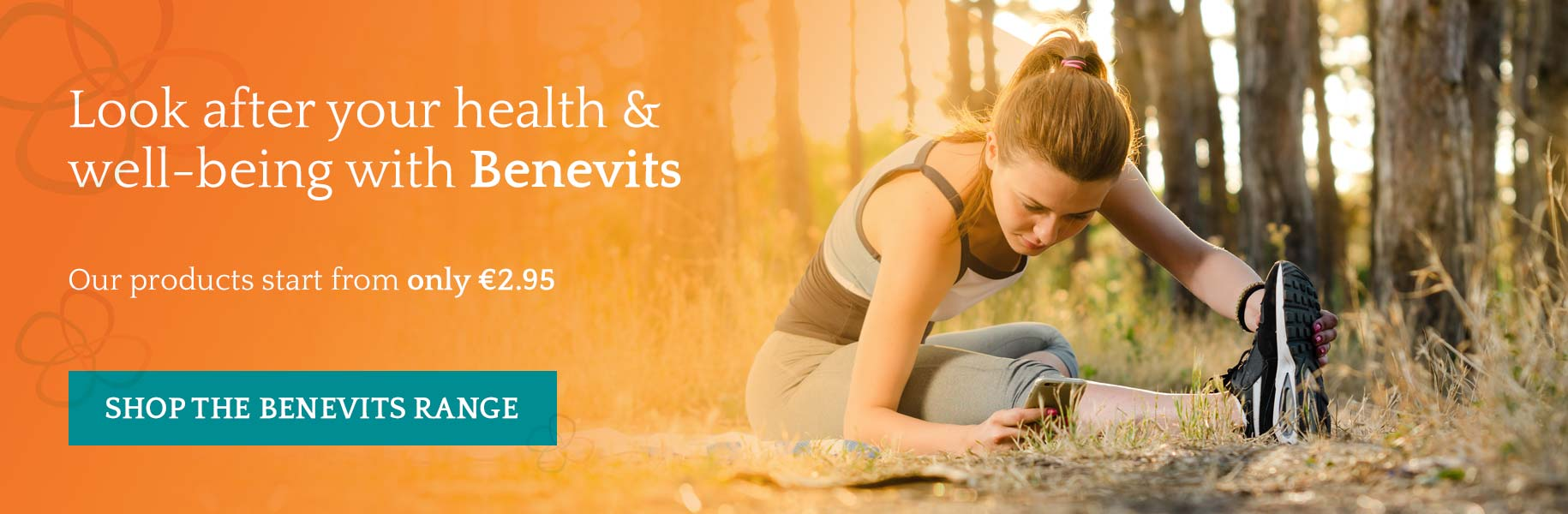 Look after your health and well-being with Benevits, shop the range now