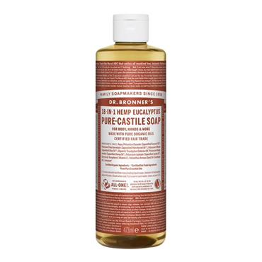 Dr Bronner's Eucalyptus Pure-Castile Liquid Soap 475ml